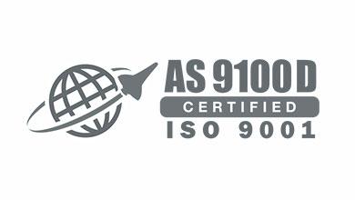 AS9100D Certification Badge
