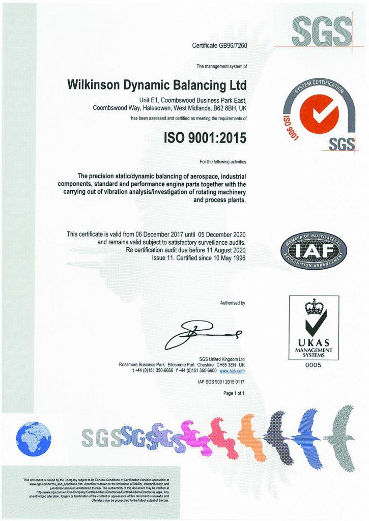 WDB - SGS Certified
